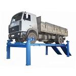 Стационарные подъемники для грузовых автомобилей