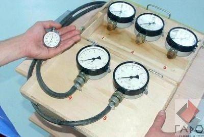 Прибор для проверки пневмопривода тормозов М100 (МЕТА)