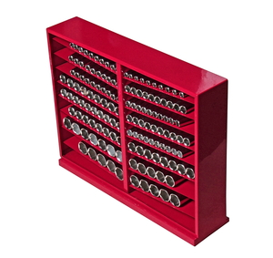 """Набор головок торцевых 1/2"""" 6-ти гранных 10-32мм глубоких в металлическом шкафу 137 предметов JTC-H4137L"""