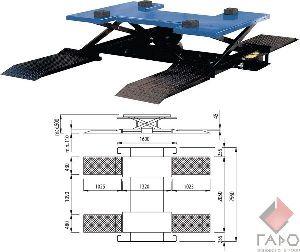 Подъемник для шиномонтажа пневматический ОМА-535А/260B