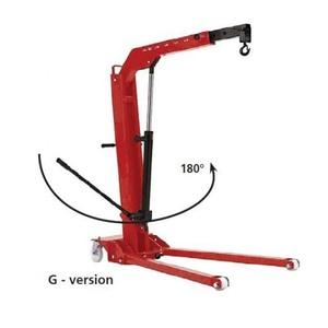 Кран гидравлический низкопрофильный поворотный ОМА-586G